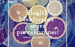 Health Mentorerne søger prøvekaniner d.-2