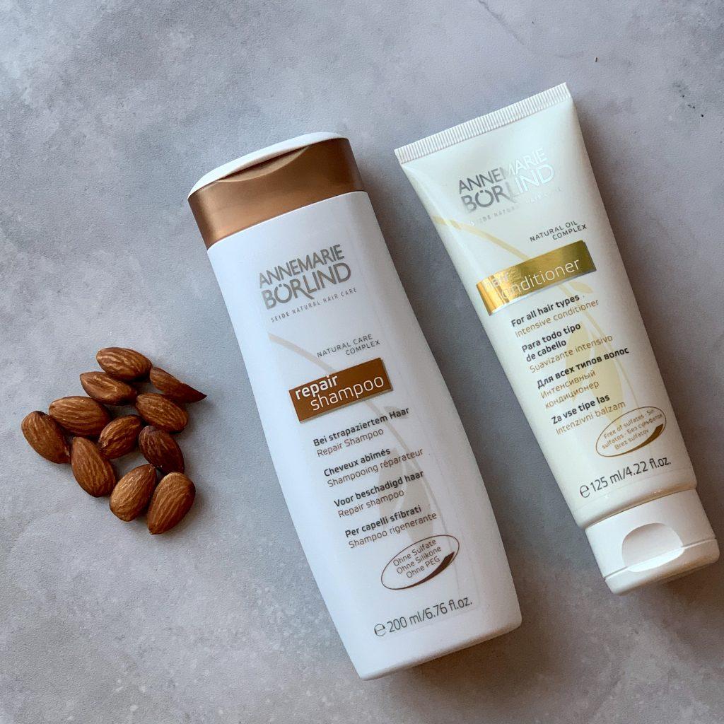 Økologisk Shampoo Repair fra Annemarie Börlind 200 ml og en økologisk hår maske 125 ml1