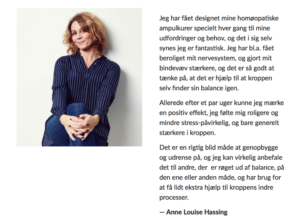 Anne louise hassing